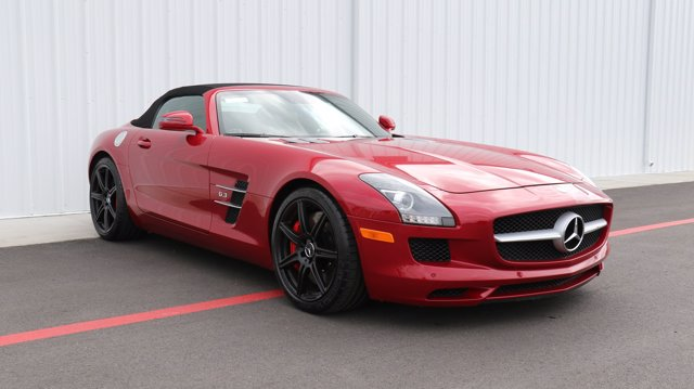 Pre-Owned 2012 Mercedes-Benz SLS Convertible